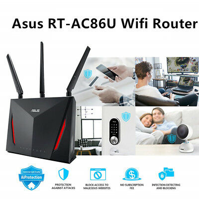 ASUS AC2900 WiFi Dual-band Gigabit Wireless Router 1.8GHz Dual-core Processor DR