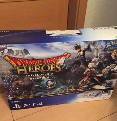 PS4 PlayStation 4 Console 500GB Dragon Quest Metal Slime Limited Edition