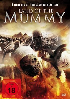 Land of the Mummy Box - 3 Filme  DVD/NEU/OVP FSK18