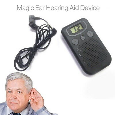 Magic Personal Ear Hearing Aid Device Booster Sound Hearing Amplifier Digital AU
