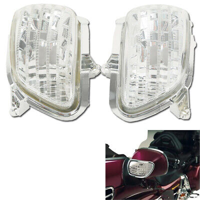 Front Clear Turn Signal Lens Shell Fit Honda Goldwing GL1800 2001-2014 2013 2012