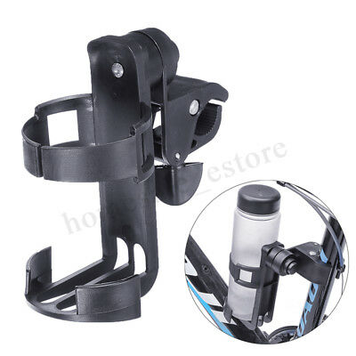 Universal Adjustable Clip-on Cup Bottle Holder For Stroller / Pram/ Bike/Scooter