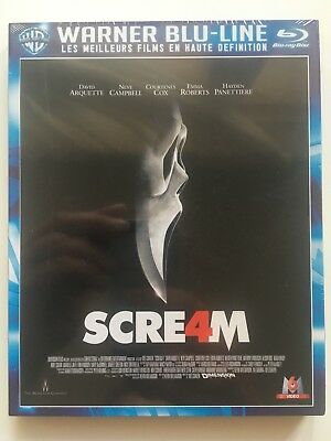 Scream 4 BLU RAY NEUF SOUS BLISTER Wes Craven - Neve Campbell - David Arquette