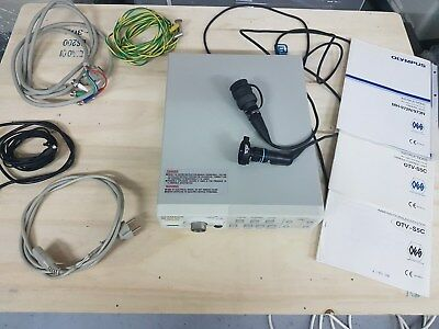 Olympus OTV-S5c video camera controller with camera head MH-972N + VideoCabel