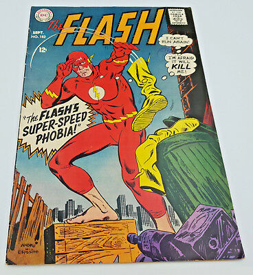 Flash #182 Silver Age DC Comics Ross Andru VF-