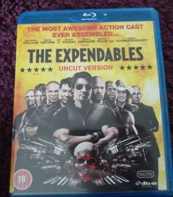 The Expendables (Blu-ray) UNCUT VERSION*SYLVESTER STALLONE*MICKEY ROURKE*ACTION