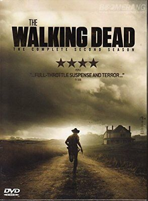 The Walking Dead: The Complete Second Season DVD 2012 ~ 4-Disc Set