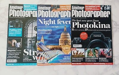3 .AMATEUR PHOTOGRAPHER. Magazine's