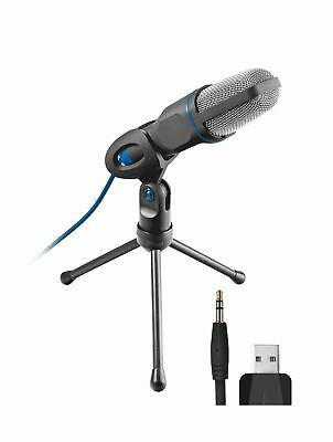 Trust 20378 Mico USB Microphone and Stand for PC and Laptop, USB Connected ... .