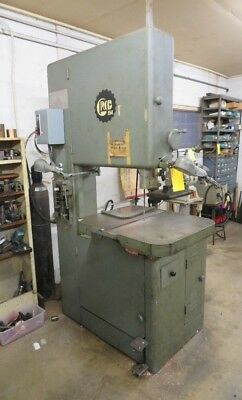 "Grob 24"" Vertical Bandsaw With Welder"
