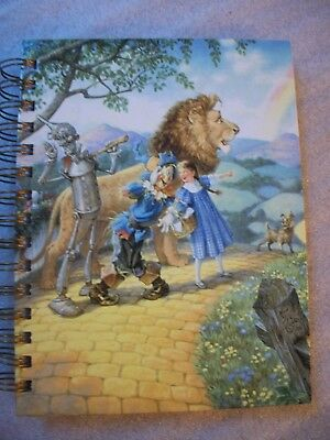 """NEW - SunsOut Address Book with """"Wizard of Oz"""" image by Artist Scott Gustafson"""