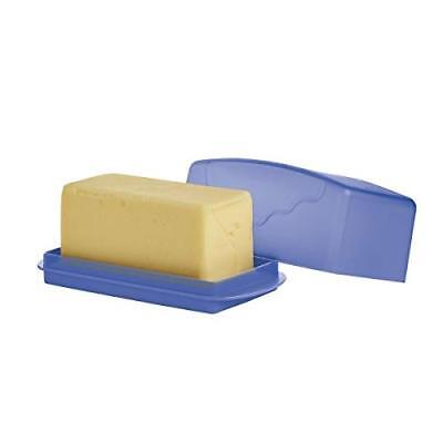 TUPPERWARE NEW IMPRESSIONS BUTTER DISH, holds up to 1lb