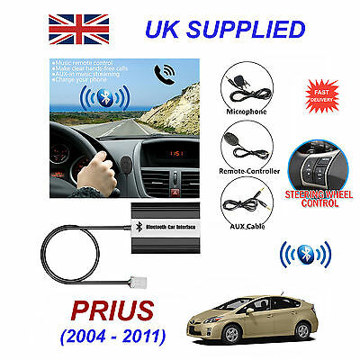 PRIUS BLUETOOTH HANDS Free Phone AUX Input MP3 USB 1 0A Charger Module 6 +  6 Pin