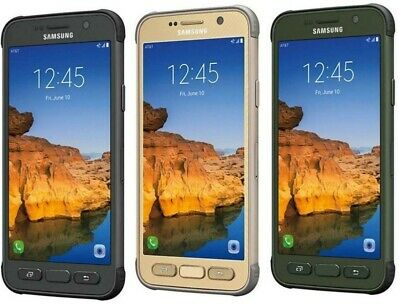 Samsung Galaxy S7 Active - Factory Unlocked; AT&T / T-Mobile - Gold,Grey, Green