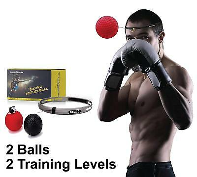 Boxing Reflex Ball Fight Speed Punching Ball On String With Headband