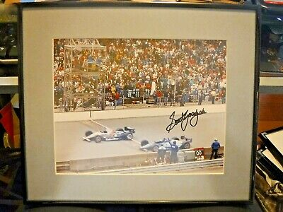 Autographed Scott Goodyear  Racing  IndyCar Racing Framed Print  1997