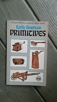 Vintage collectors illustrated price guide early american primitives book