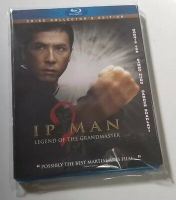 IP Man Blu Ray 2 Disc Collectors Edition DVD Used