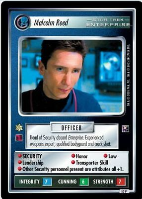 Star Trek CCG Enterprise Collection Hoshi Sato FOIL 49P