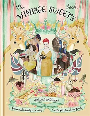 The Vintage Sweets Book by Adoree, Angel Book The Cheap Fast Free Post