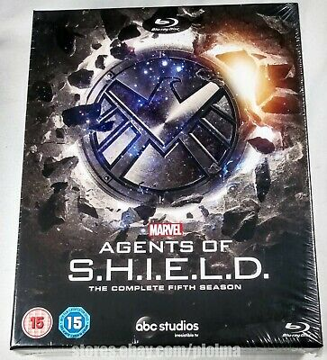 Marvel AGENTS OF SHIELD Complete FIFTH Season BLU-RAY DIGIPAK Digipack BOX 5