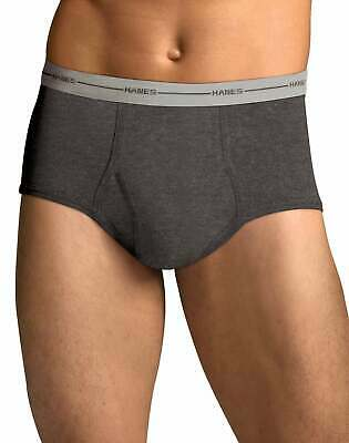Dyed Briefs 6-Pack Hanes Men's FreshIQ ComfortSoft Full Rise Tag-free Flex Waist