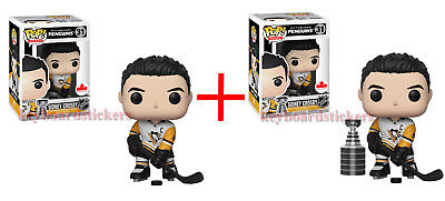 3cfd1b02e4f Funko Pop SIDNEY CROSBY CHASE   COMMON  31 Pittsburgh Penguins Hockey Wave 3