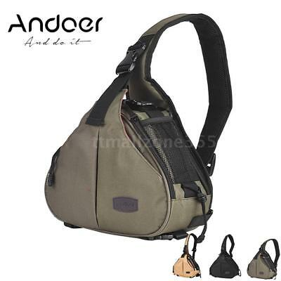 Andoer Triangle Waterproof Camera Bag Case for Canon Nikon Pentax Olympus H8Z1