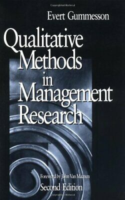 GUMMESSON: QUALITATIVE METHODS (P 2/ED) IN MANA... by Evert Gummersson Paperback