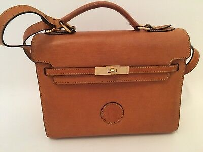 93d82ac49c LOS ROBLES - Polo Time Argentinian Leather Handbag With Key Fob and ...