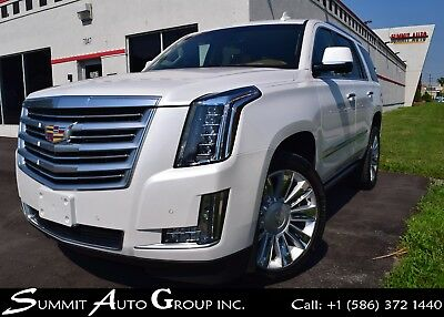 2016 Cadillac Escalade PLATINUM-EDITION-Crystal White Trico-LOW MILES!!!!