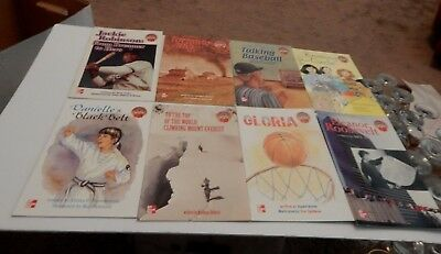 Lot Of Mc Graw Hill -   Leveled Books - Home School - Mixed Levels 6 5 & 4 (A)