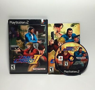 Time Crisis II (Sony PlayStation 2, 2001) Time Crisis 2 Complete Tested PS2