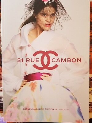 Chanel 31 Rue Cambon Magazine Edition 18 - Issue 18 - Brand New