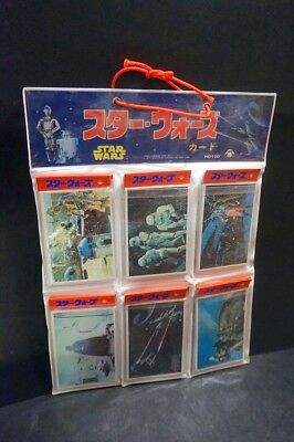 Star Wars Japanese Yamakatsu Trading Cards 1970s NEW 30 sheets 120 cards #2