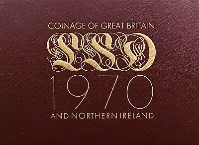 1970 Coinage Of Great Britain And Northern Ireland Proof