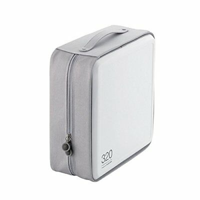 ELECOM DVD CD case semi-hard 320 Holds White CCD-H320WH zi From japan