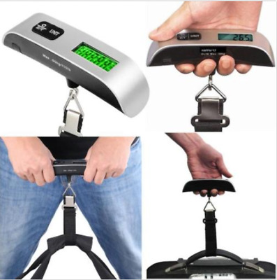 Portable Travel 50KG/10G LCD Digital Hanging Luggage Scale Electronic Weight