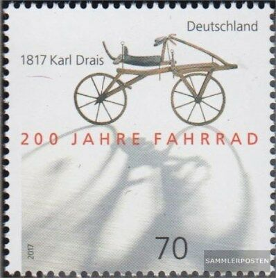 FR Germany 3320 MNH 2017 200 years Bicycle