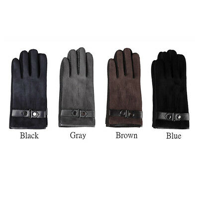Warm Winter Gloves Full Finger Touch Screen Fashion 4 Colors Cycling Bike C
