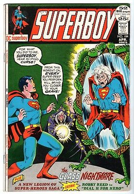 Superboy #184, Very Fine - Near Mint Condition