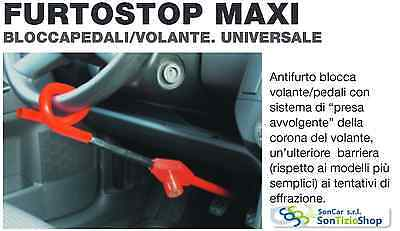 ANT-ITHEFT SYSTEM CAR LOCK STEERING WHEEL and pedals,VERY GOOD AND PRACTICAL