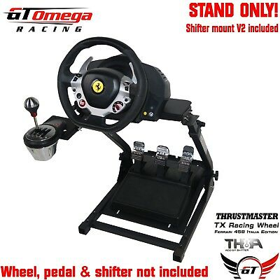 Gt Omega Gaming Volant Support Pro pour Thrustmaster Tx Course F458,TH8A Manette