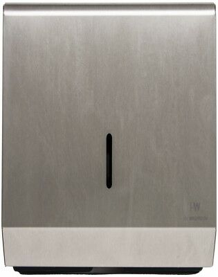 Paper Towel Dispenser Brushed Stainless Steel Hand Towel Holder Wall Mounted