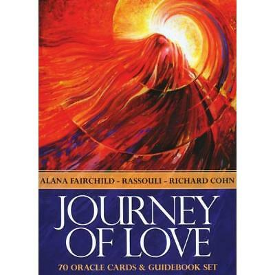 Journey of Love: 70 Oracle Cards and Guidebook Fairchild, Alana/ Rassouli (Illus