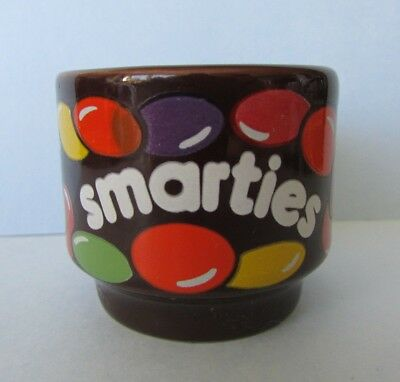 Fab Rare Vintage Retro Hornsea Pottery *smarties* Sweets Chocolates Egg Cup