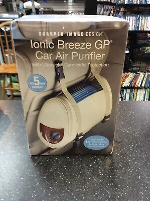 Sharper Image Ionic Breeze Gp Car Air Purifier Uv Germicidal