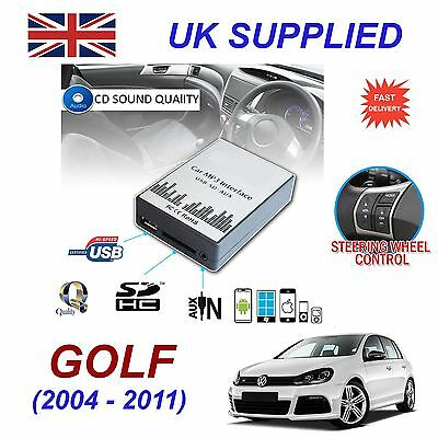 VW T5 98-01 MP3 SD USB CD AUX Input Audio Adapter Digital CD Changer