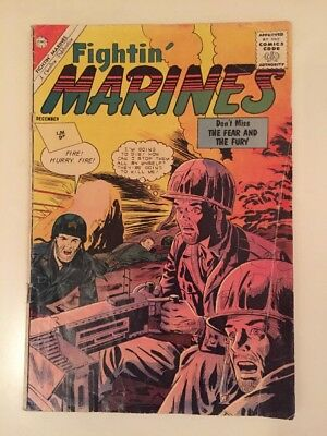 Fightin' Marines #50 1962 THE FEAR AND THE FURY CHARLTON COMICS