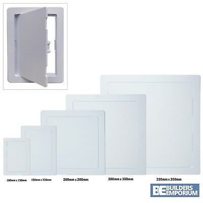 Access Panels White ABS Plastic Inspection Hatch Trade Standard Access Door